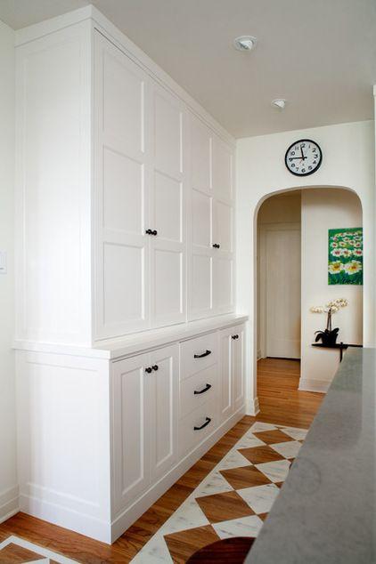 Craftsman Kitchen Shaker Inset Doors Paint Grade English