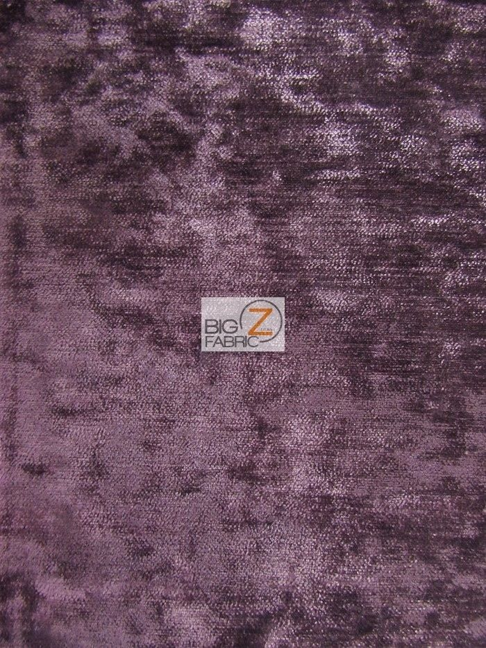 490 GRAMS WOVEN DRAPERY UPHOLSTERY CHENILLE FABRIC - Plum - BY YARD SOFA CHAIR #BIGZFABRIC