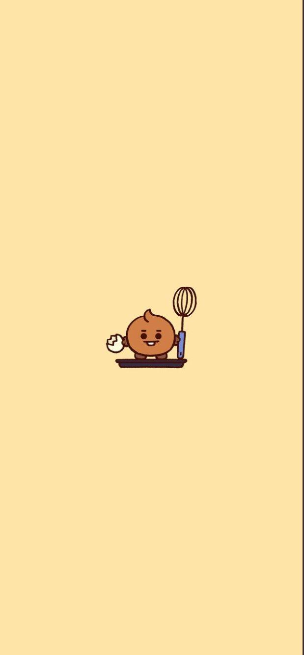 Shooky! #Bt21 #Shooky #BTS | Cute cartoon wallpapers, Cute ...
