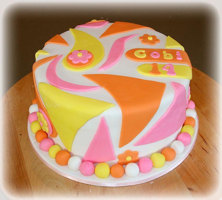 Pretty Happy Birthday Cakes