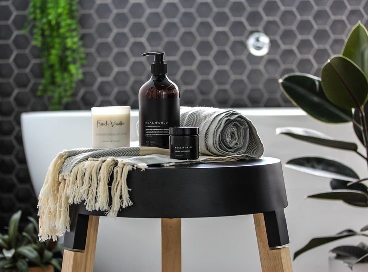 Bathroom Gift Box Styling and Photography for Little Koha