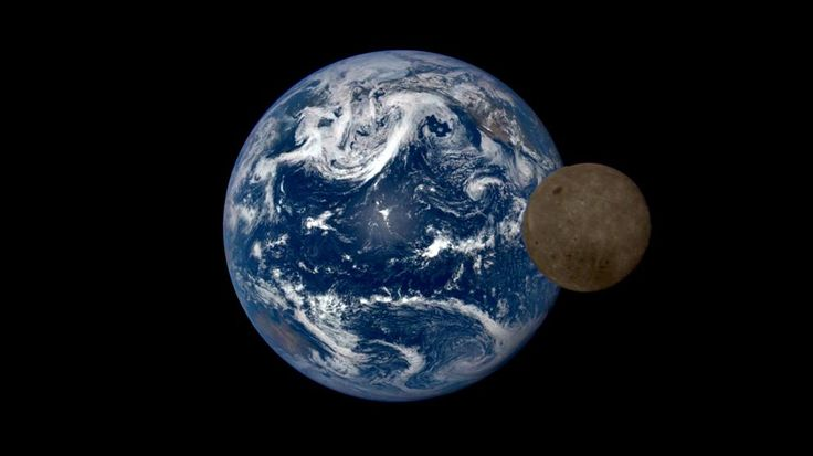 "A stunning time-lapse from the Deep Space Climate Observatory includes that time the moon ""photobombed"" our home planet."