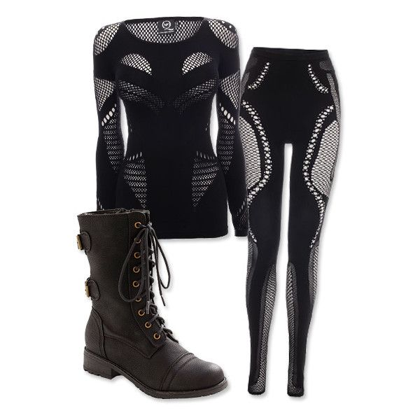 Get the Look 5 'Hunger Games' Looks You Can Wear in Real Life... ❤ liked on Polyvore featuring hunger games, outfits, the hunger games and sets