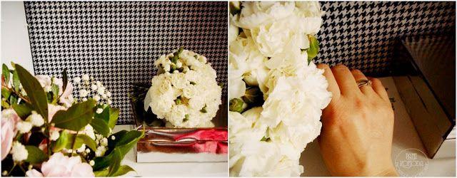 ślub  decor  BOX   DIY  Flower