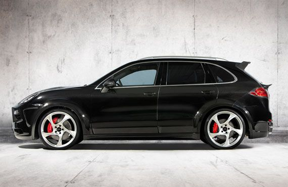 Mansory has recently released a photo gallery and the full details of its project based on the 2011 Porsche Cayenne.   The tuner gave the SUV's 4.8 liter turbocharged powerplant a set of larger turbos, a stainless steel sport exhaust and an ECU