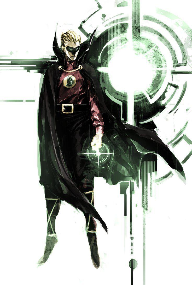 Alan Scott, Green Lantern - naratani.deviantart.com