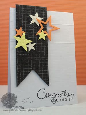 Graduation card? Change the colors to the school colors