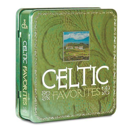 Celtic Favorites 3 Audio CDs Collectible Tin Box River Dance Various Artists