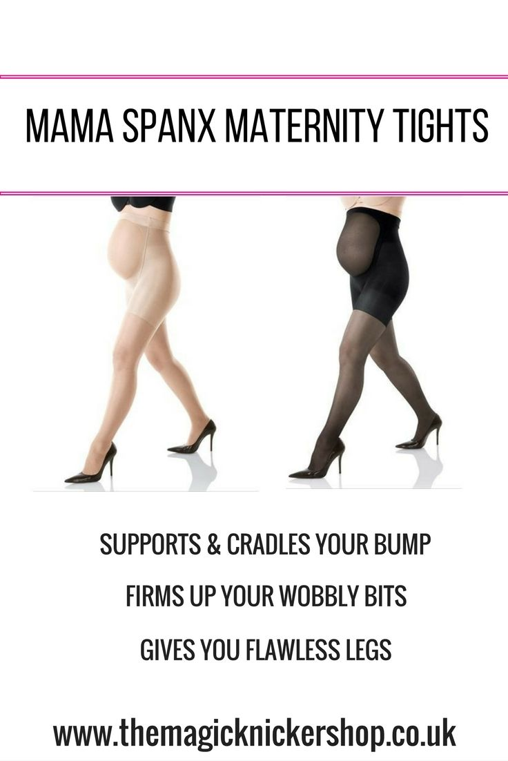 Mama Spanx Full Length Maternity Pantyhose are a gorgeous pair of maternity tights. They DO NOT COMPRESS YOUR BUMP. Instead they cradle it and grow with it meaning the tights will fit you all through your pregnancy. They will slim and firm your hips, thighs and bottom whilst giving you flawless legs. CLICK on our website for 15% OFF your Mama Spanx Full Length Maternity Pantyhose https://www.themagicknickershop.co.uk/products/mama-spanx-maternity-full-length-pantyhose MAMA SPANX MATERNITY…