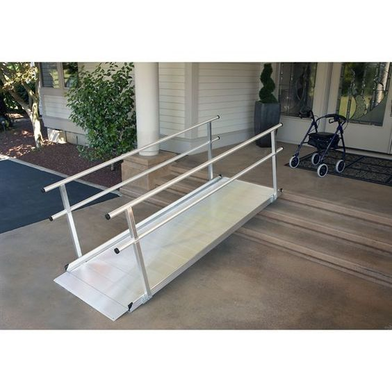 25 best ideas about aluminum wheelchair ramps on for Aluminum wheel chair ramps