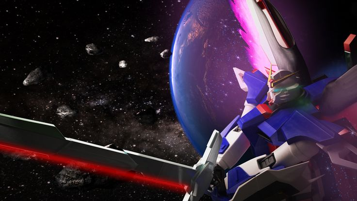 Gundam Destiny And Earth