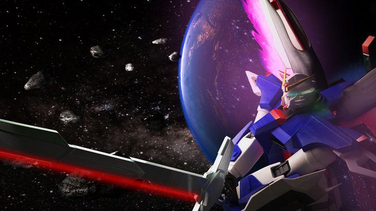Gundam Destiny And Earth