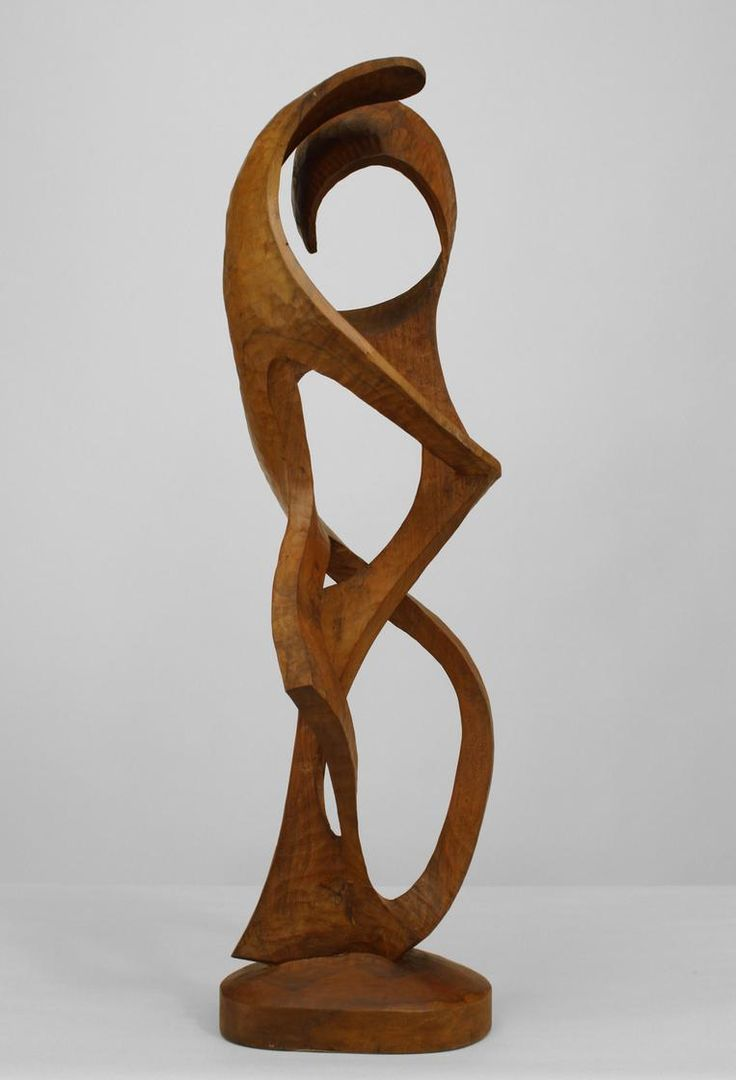 contemporary maple  ambrosia wood  abstract sculpture of a