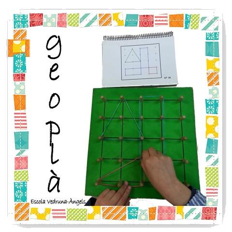 Geoplà. Treball de l'orientació espaial , geometria...  Escola Vedruna-Àngels (Barcelona)