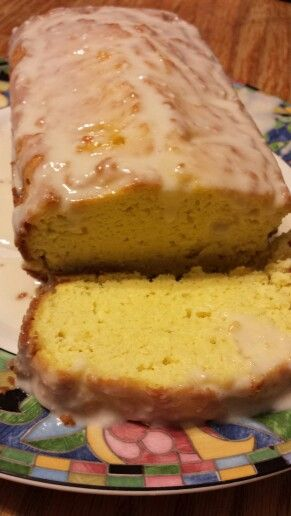 Buttery Bliss Lemon Pound Cake  2 cups Blanched Almond Flour 1 tsp Baking Powder Dash of Salt Lemon zest form 1 lemon 3 tsp Lemon Juice 1/2 cup Butter, softened (like kerrygold) 1/2 full fat sour cream 1 cup sweetener (I used powdered stevia) 5 Eggs (if using powdered stevia, 4) 1 tsp Vanilla extract  Heat oven to 350° Mix butter, sour cream
