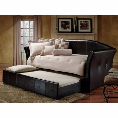 Possible daybed with trundle solution for the media room/office/reading room.