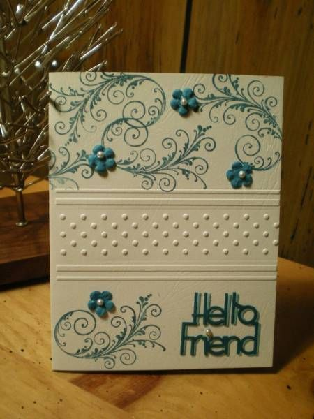 Hello Friend! By:MakCards - Cards and Paper Crafts at Splitcoaststampers