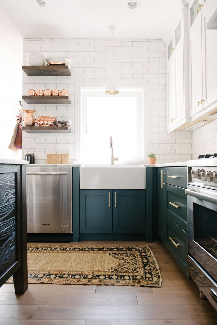 Kitchen styled by Loom + Kiln