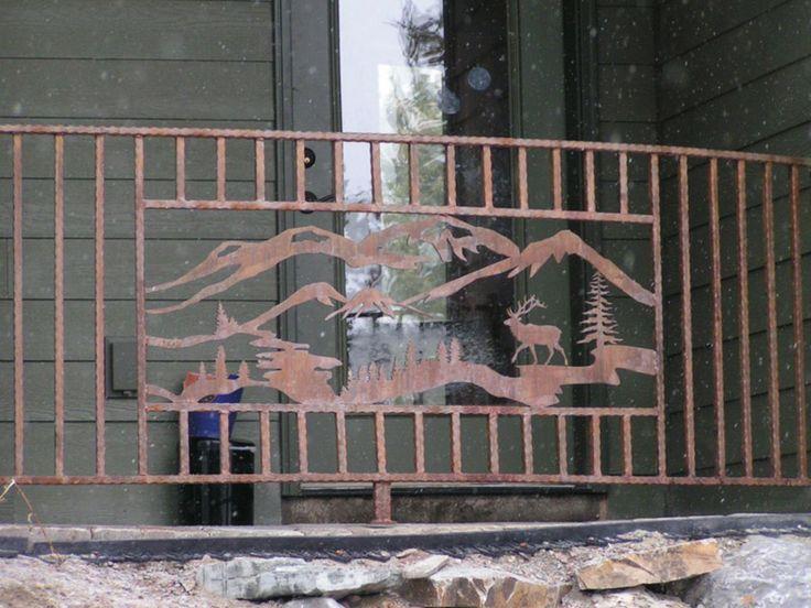 38 best Railings images on Pinterest | Balcony railing ...