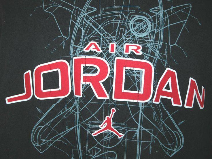 Air Jordan Adult X-Large Black T-Shirt (XL Michael Basketball MVP Champs Shoes) #RivalMadness