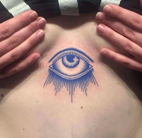 Blue eye by Amalie