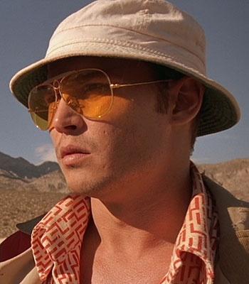 Johnny Depp as Hunter S Thompson