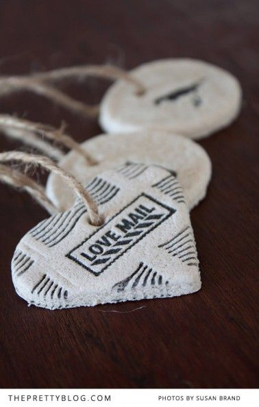 Salt Dough Decorations which can be used also as gift tags – DIY