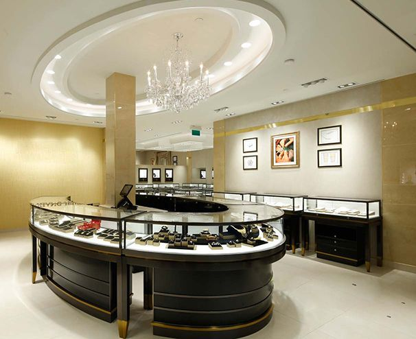 Best Jewellery Showroom Display Counter Designs With Images