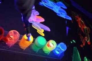 Cómo preparar acuarelas caseras fluorescentes. Blog con muchas ideas!!! Tecnicas