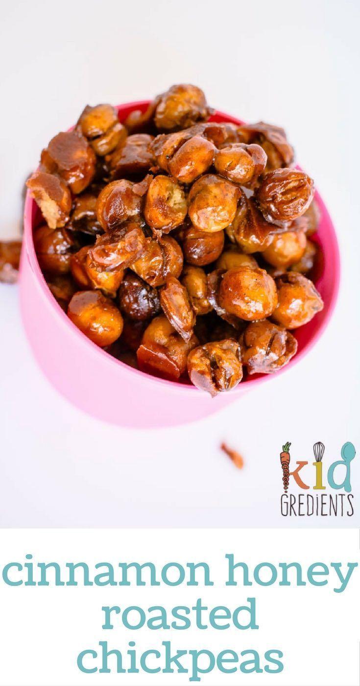 Honey Roasted Chickpeas on Pinterest | Toasted Chickpeas, Chickpeas ...
