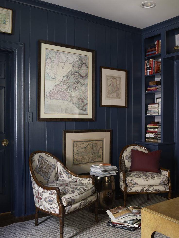 Vivid Jewel Toned Rooms Blue Rooms Blue Walls Room Colors