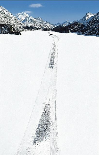 Andreas Gursky - Engadin II