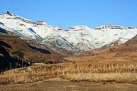 Lesotho Maluti mountains