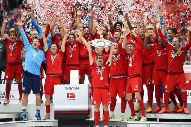 Bayern Munich - Bundesliga 2015/2016 Winner