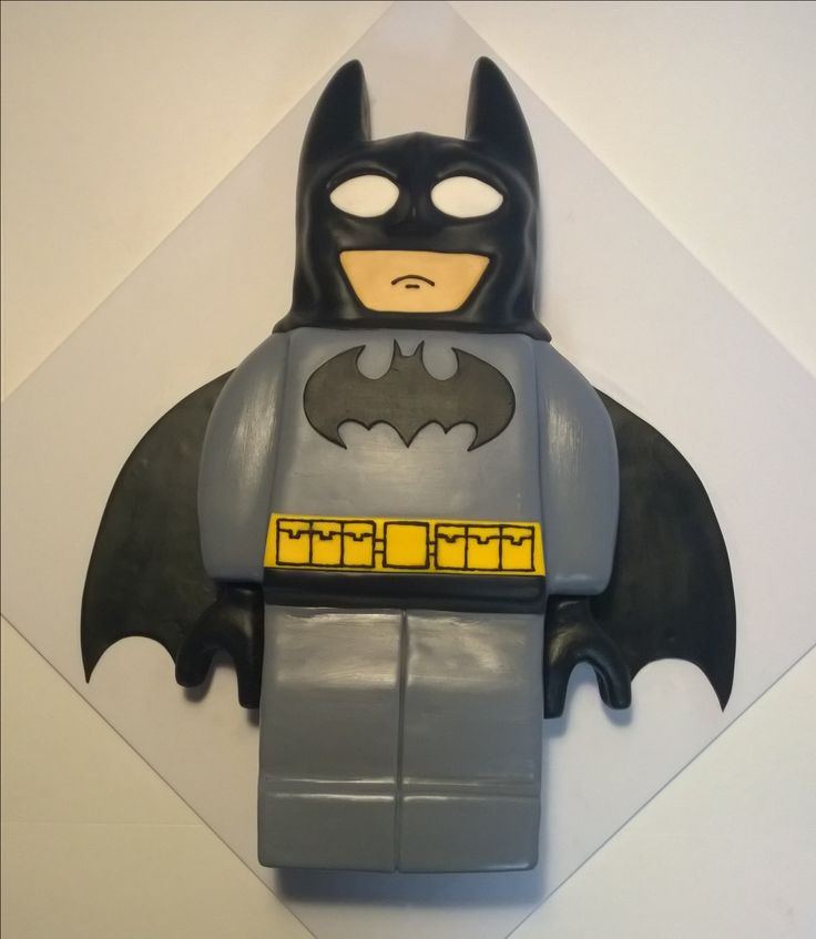 Lego Batman cake.   www.facebook.com/icedmagiccreations