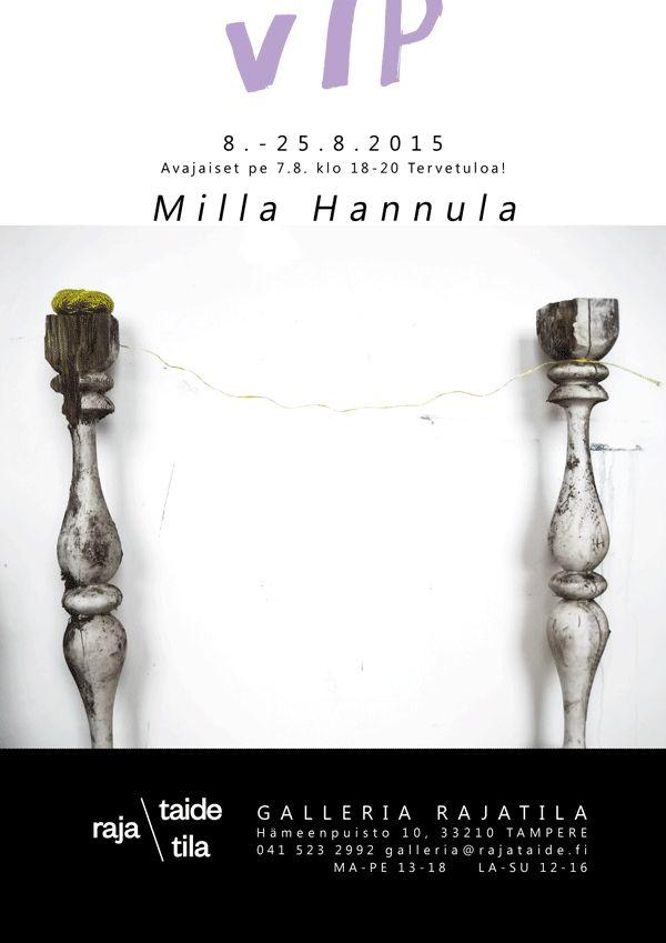 Milla Hannula: VIP. Galleria Rajatila, Tampere, Finland