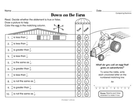 Line Measurement Worksheets Pdf  Best Math Fractions And Decimals Images On Pinterest  Math  Subtraction Column Method Worksheets Pdf with Roller Coaster Physics Worksheet Word Check Out This Math Worksheet That Provides Practice Comparing Fractions A  Freebie From Themailbox Half Life Problems Worksheet With Answers Word