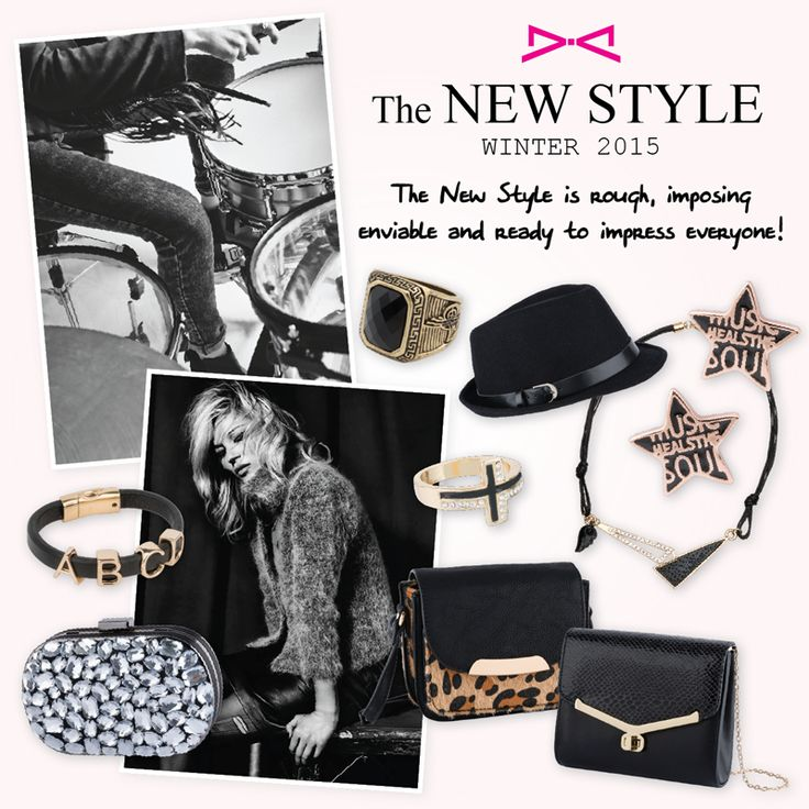 The new #rocking style will blow your minds away!  #achilleas_accessories