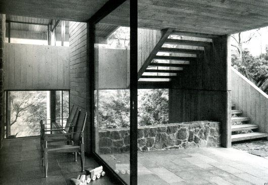 Seidler house, Killara, by architects Harry & Penelope Seidler, 1967
