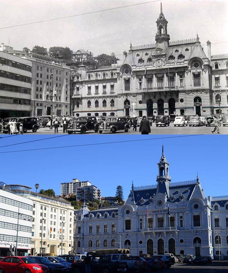 Plaza Sotomayor en la década 1950