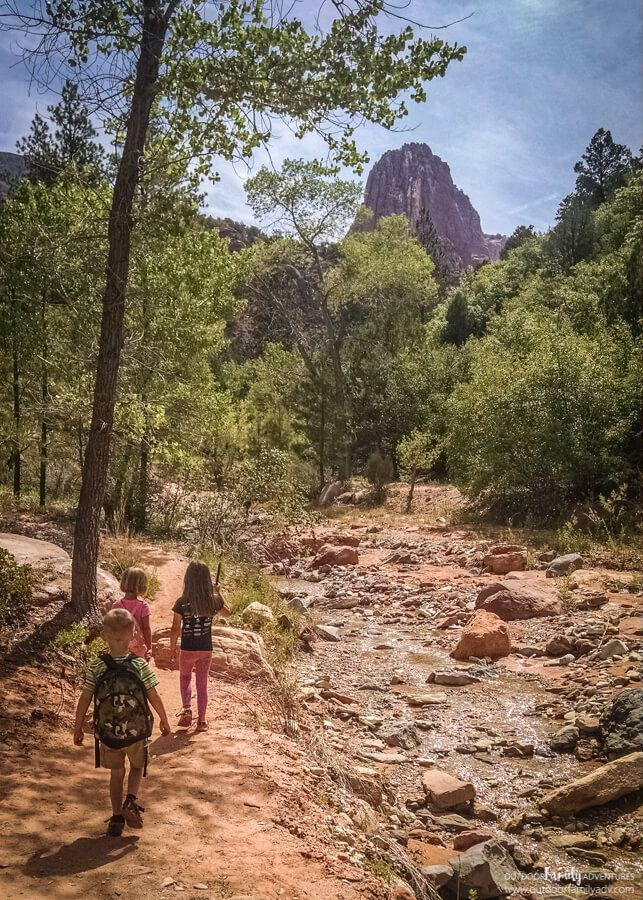 Taylor Creek Trail found in Kolob Canyon, the northwest section of Zion National Park. 5 miles round-trip, moderate hiking level, but worth every step. A fantastic adventure!