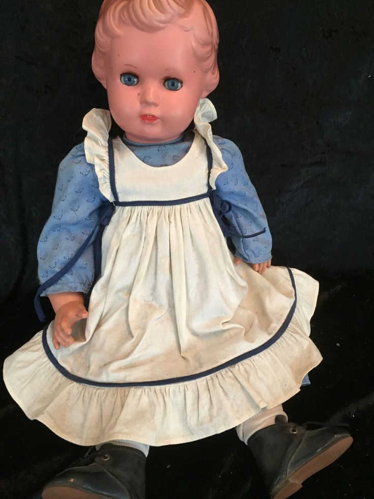 orig. Schildkröt Puppe Ursula, Rheinische Gummiwarenfabrik,Mammastimme 49 kopf | eBay