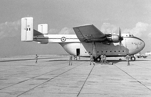 In the heyday of the Blackburn Beverly this iconic transporters main Base was at RAF Abingdon!