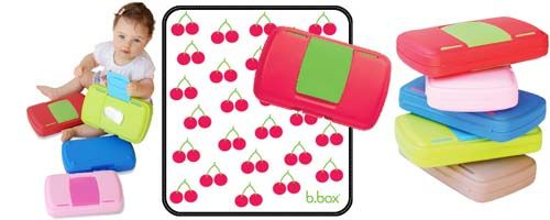 b.box Nappy Wallet and Wipe Holder - Cherry Delight - UrbanBaby