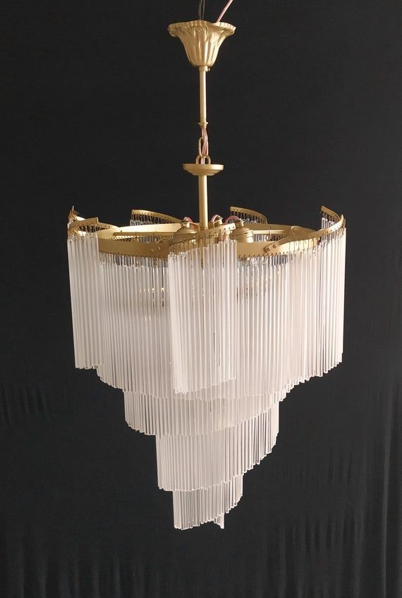 Art Deco Retro Vintage Murano Milk Glass Chandelier LED Semi Flush Basket Ceiling Light Fixture Wedding Dining Room Entryway Halllighting