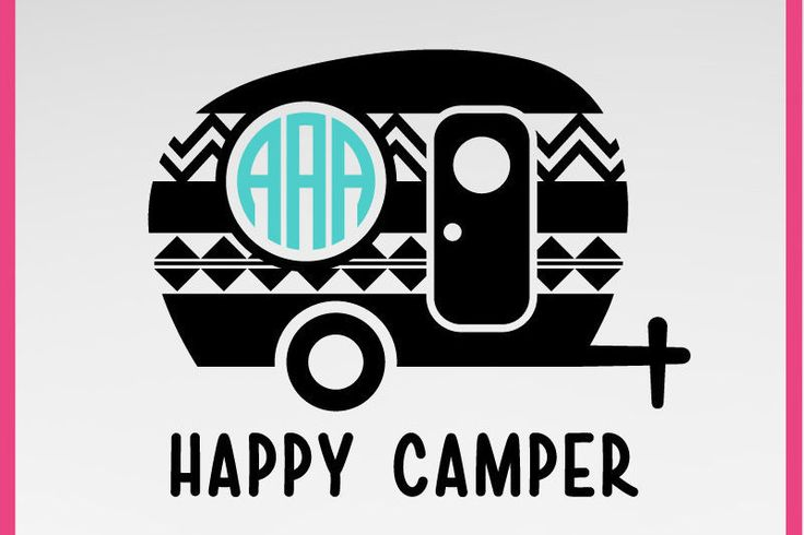 Instant Download, Aztec Happy Camper SVG, traveler svg, DXF, PNG Formats by DIYHAHAHA on Etsy