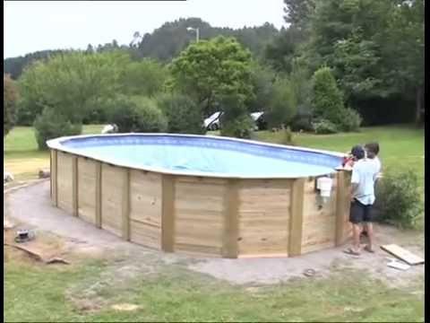 1000 ideias sobre piscinas gre no pinterest piscinas - Instalacion de una piscina ...