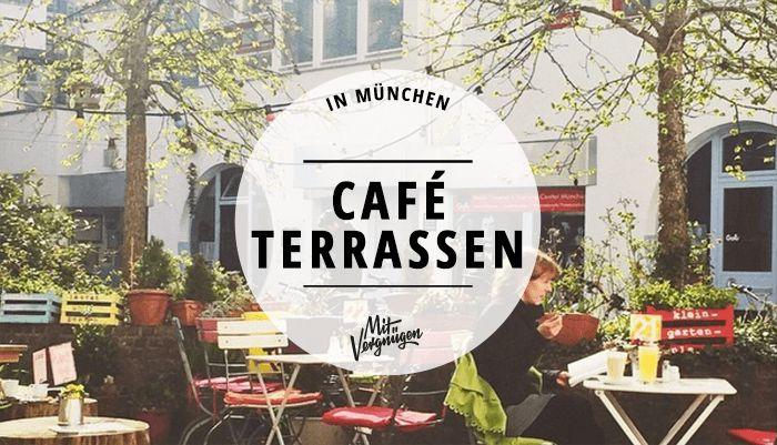 Wenn die Sonne scheint, wir es eng auf Münchens Gehwegen. Cafés mit großen Terrassen sind rar. Hier sind 11 Orte, für den sommerlichen Kaffeegenuss.