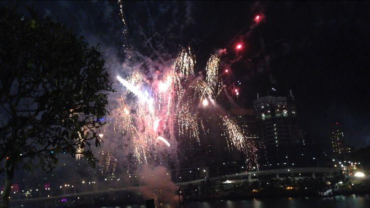 Fireworks Brisbane Australia