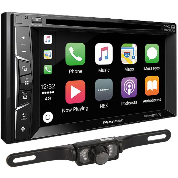 Pioneer AVH-1300NEX Double DIN Apple CarPlay Car Stereo w/ Backup Camera